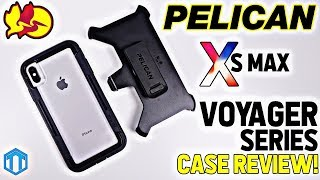 iPhone Xs Max Pelican Voyager Case Review! Heavy Duty Protection!