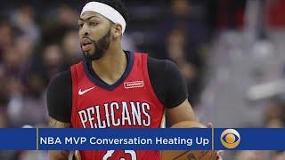 Anthony Davis Enters NBA MVP Conversation