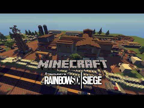 Minecraft Rainbow Six Siege Oregon Map Minecraft Project