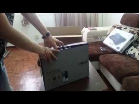 Asus Transformer Book Flip TP500L Unboxing i3 GT840M 2GB