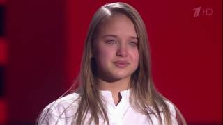 Дарья Щербакова «Обещание»   Слепые прослушивания   Голос Дети   Сезон 4