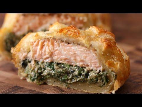 Puff Pastry Salmon (Salmon Wellington)