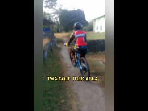 Ngetrek di areal Adventure mtb dlm kota Bengkulu