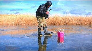 Я вышел на последний лёд. САМЫЙ ОПАСНЫЙ. Рыбалка на щуку. Жерлицы. Зимняя рыбалка.
