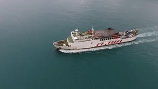 Mengejar Kapal Feri Oleh Drone DJI Phantom 4 (Perjalanan dari Pelabuhan Merak ke Bakauheni)