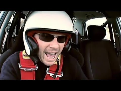 Christian Slater: Police Chase and Top Gear Lap (HQ) | Top Gear | BBC