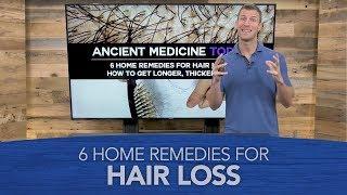 6 Home Remedies for Hair Loss | Dr. Josh Axe