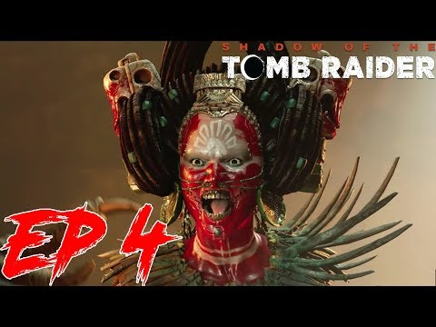 Shadow of the Tomb Raider - Walkthrough Part 4 - Zombies Chase Scene