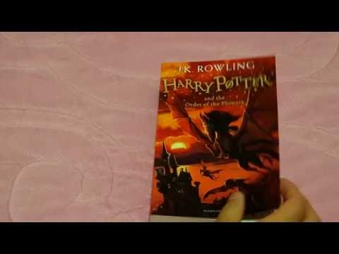 Harry Potter and the Order of the Phoenix Paperback UK New Cover 2014