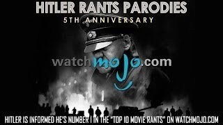 "Hitler is informed he's Number 1 in the ""Top 10 Movie Rants"" on WatchMojo.com"