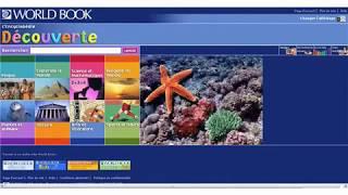 L'Encyclopédie Découverte – World Book online