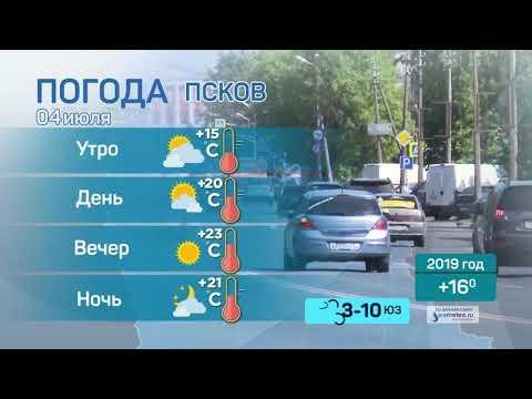 Прогноз погоды / 04.07.2020