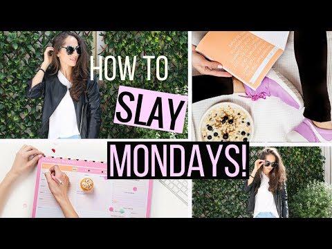 How to SLAY Mondays | Pre Monday Morning Routine