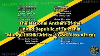 Tanzania National Anthem with music, vocal and lyrics Kiswahili w/English Translation