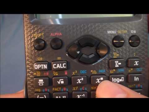 Wissenschaftlicher Taschenrechner Turtorial #002