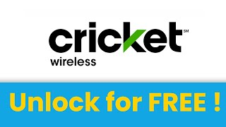 🇺🇸 Unlock Cricket phone for FREE 🔓 Cricket SIM unlock code