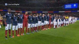 Wembley canta al unísono La Marsellesa