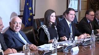 S.M. la Reina Letizia preside la reunión del Patronato de la FAD