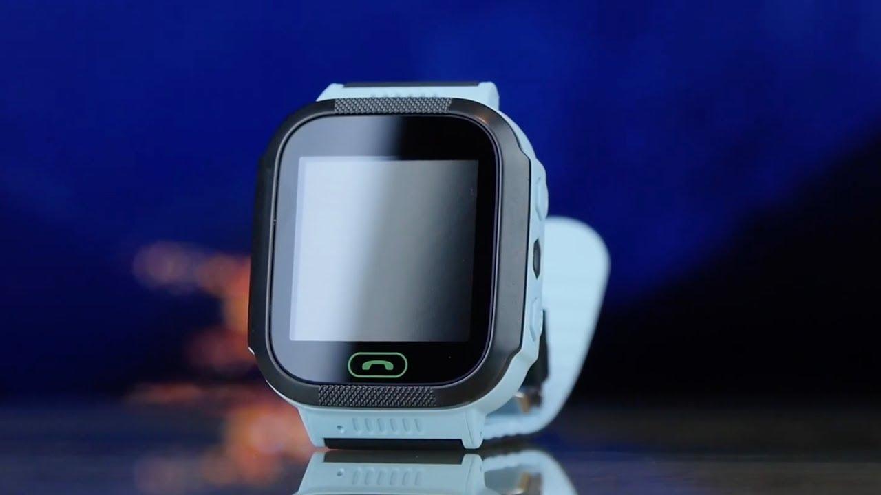 Смарт-часы GOGPS K12 (Blue) К12СН video preview