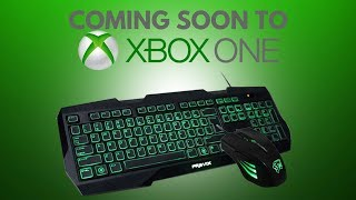 Xbox One Mouse and Keyboard Support Coming Soon - Could this be the death of Xbox?