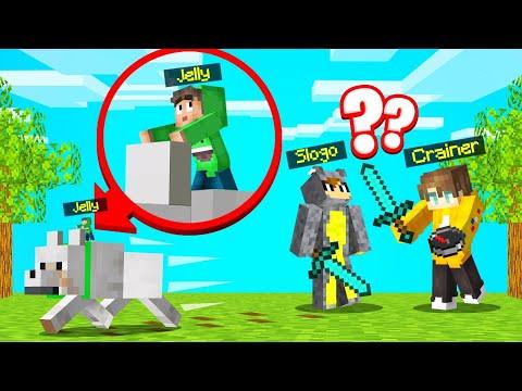 MINI SPEEDRUNNER vs. HUNTERS In MINECRAFT! (Sneaky)