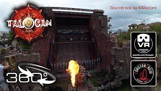 360° Talocan | Huss Top Spin Ride Phantasialand Germany - 4K #360video VR on-ride POV