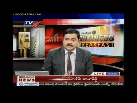 13th Nov 2018 TV5 News Business Breakfast