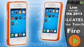 [GER]  Alcatel One Touch Fire - IFA 2013 - android tv