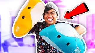 I Tried The Shield That Protects You From Everything!  (Hydroshield)