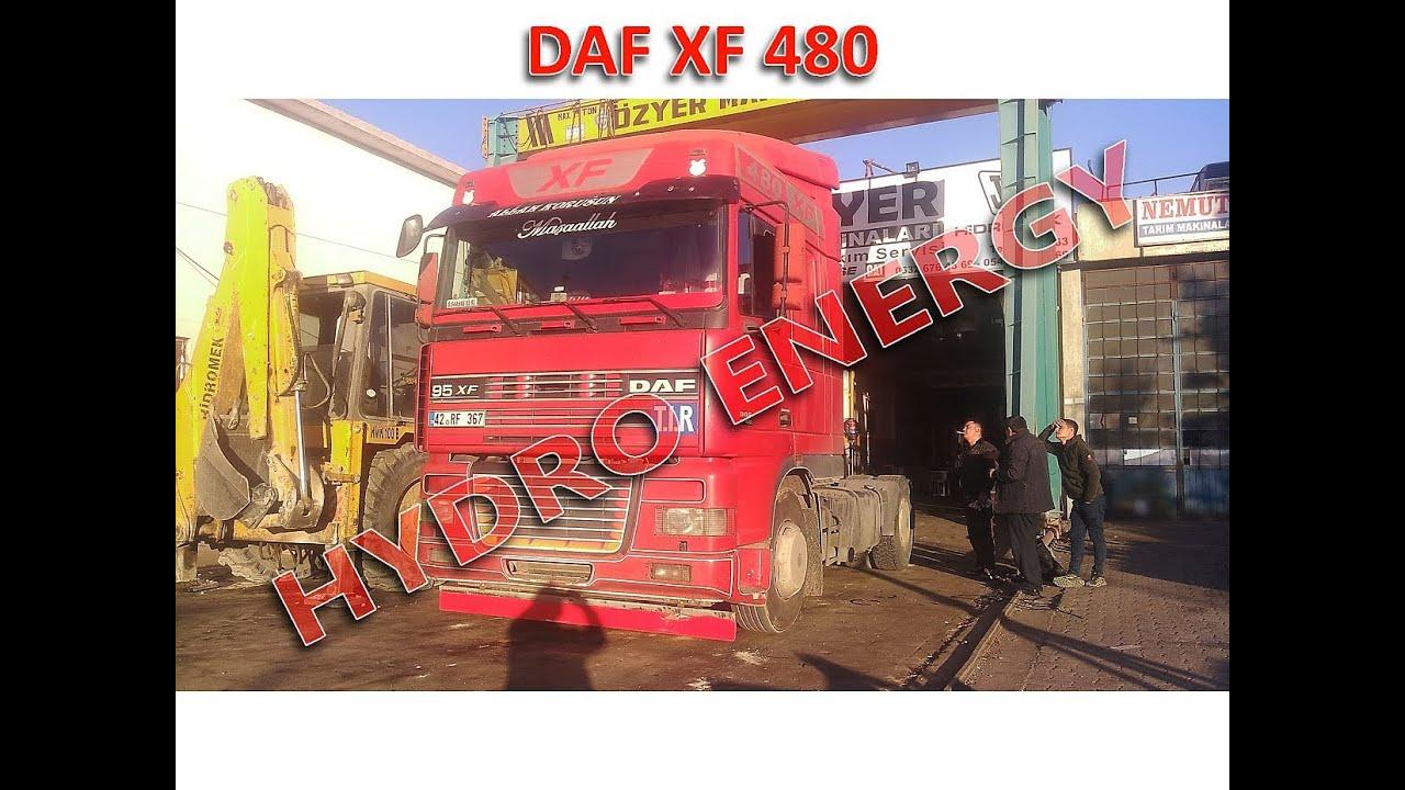 Daf xf 480 yakıt tasarruf sistem montajı
