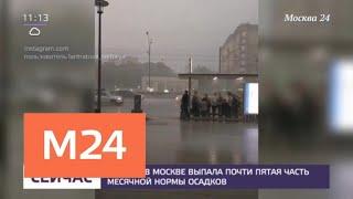 Похолодание ожидается в столичном регионе на следующей неделе - Москва 24