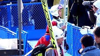 🎿4強公式練習予選TOP4OfficialTrainingPreliminaryround2018ワールドカップスキージャンプ女子