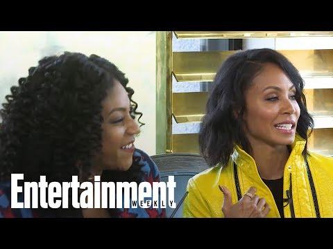 Jada Pinkett Smith Tried Groupon Thanks To Girls Trip Costar Tiffany Haddish   Entertainment Weekly