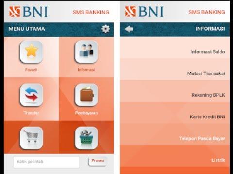 Cara cek saldo Bni lewat SMS banking Bni