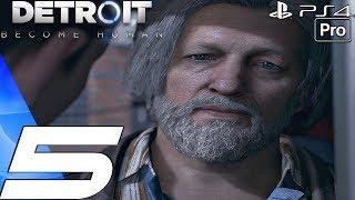 Detroit Become Human - Gameplay Walkthrough Part 5 - Jericho & The Nest (PS4 PRO)