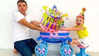 ستايسي وأبي لعب عيد ميلاد