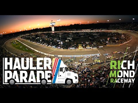 Watch Haulers Enter Track At Richmond