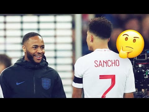 What Sancho asked Sterling the night before he scored his first international goal | Oh My Goal