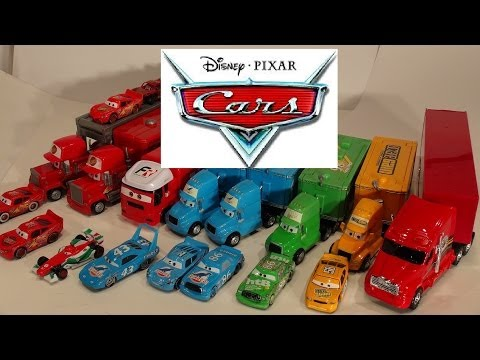 Pixar Cars, The Haulers , With Lightning McQueen, Mack And More