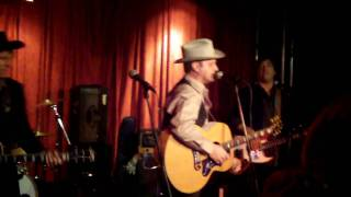 Save Cowboy Keith Benefit - Gary Bennett & Chuck Mead of Br5-49 - Honky Tonk Song