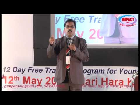Mind Mechanism|Karim |TELUGU IMPACT Hyd 2013