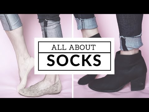 what socks to wear with shoes and