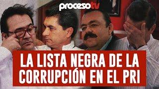 Proceso TV - La lista negra de la corrupción en el PRI