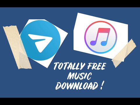 How to download free music on iphone via Telegram