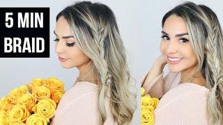 Alex Garza: Easy Boho Braided Hairstyle For Spring Tutorial