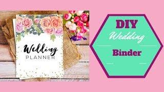 DIY Wedding Planner/ Binder and Wedding Website | Candy WorldTV
