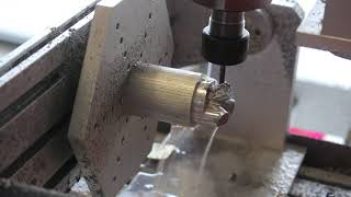 5 Axis CNC Milling Machine Video With Real Sound