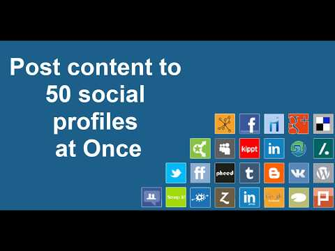 Social Media Auto Poster & Scheduler – Post to 50 Social