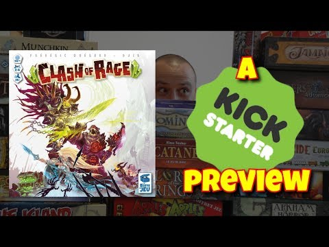 Clash Of Rage (Kickstarter) - How to play