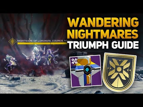 Wandering Nightmare Triumph Guide - All 4 Locations (Destiny 2 Harbinger Title Guide)